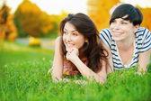 Dvě krásné dívky — Stock fotografie