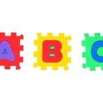 A, B, C — Stock Photo #4803157