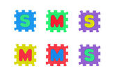 Sms and Mms — Stock Photo