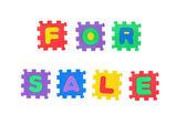 Per la vendita — Foto Stock