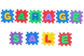 Garage Sale — Stock Photo