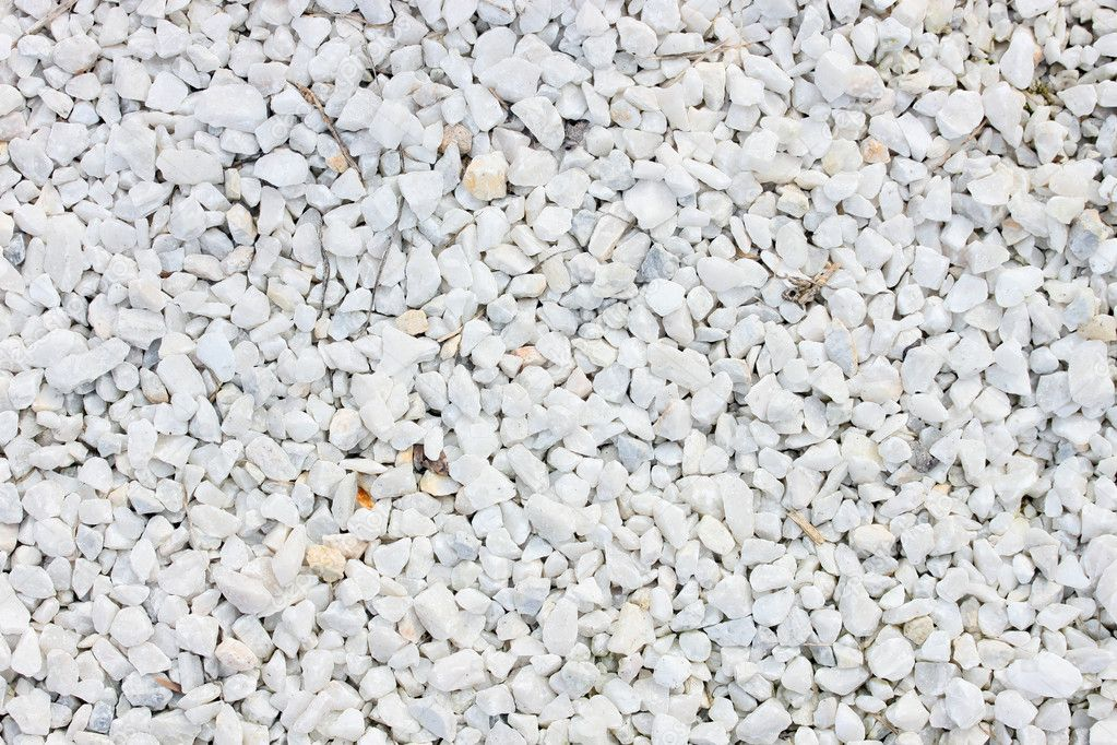 Crushed white stone stock photo dexns31 4926836 - Gravas para jardin ...