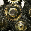 Grease gears — Stock Photo #5277065