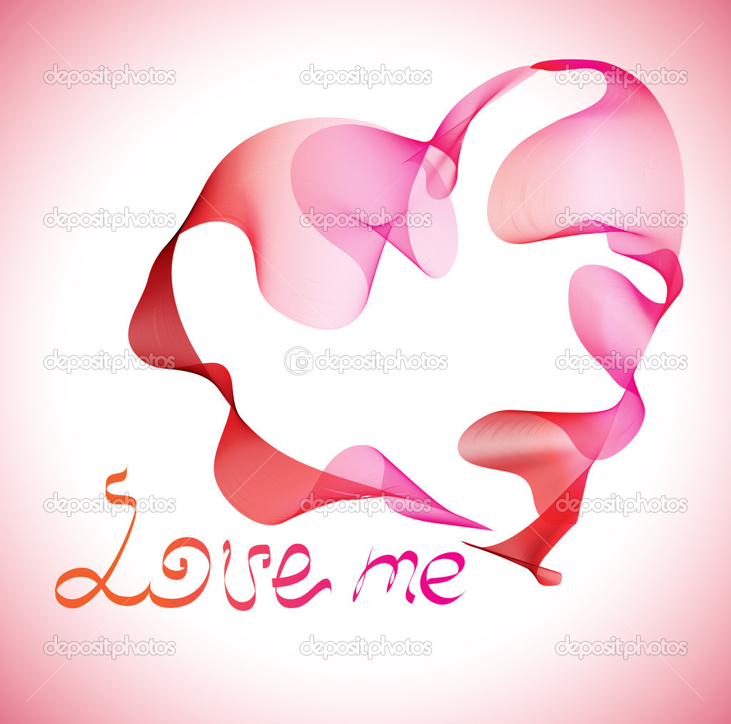 Valentines abstract heart — Stock Vector #4869212