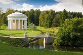 公园在巴甫洛夫斯克。俄罗斯圣彼得堡. — 图库照片