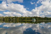 Pond in Gatchina — Stock Photo