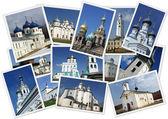 православных русских церквей — Стоковое фото