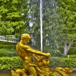 Stock Photo: Fountain in Petrodvorets