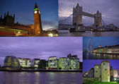 London på natten — Stockfoto
