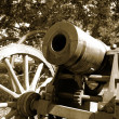 Cannon on Suomenlinna - Stock Photo