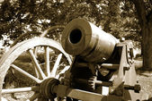 Cannon on Suomenlinna — Stock Photo