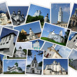 Ancient orthodox churches — Stock Photo
