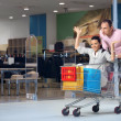 The cheerful shopping - Stock Photo