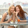 Cheerful girls — Stock Photo