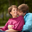 Happy pair — Stock Photo #3986896