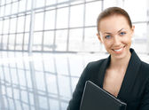 The business lady — Stock Photo