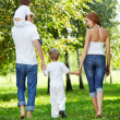Family walk — Stock Photo