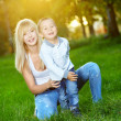 Foto Stock: Loving mother