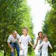 Running children — Stock Photo #4014501
