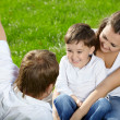 Family in park — Stock Photo #4014698