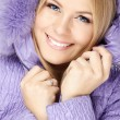 Girl in a hood — Stock Photo #4015715