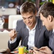 Stock Photo: Business dinner