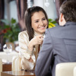 Romantic meeting — Stock Photo