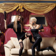 Glamour fight — Stockfoto
