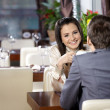 Romantic meeting — Stock Photo #4019216