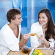Stock Photo: Flirtation