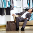 Tiresome shopping — Stock Photo #4019479
