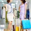 Stock Photo: Girls in shop
