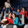 Cinema viewing — Stock Photo