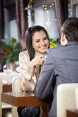 Romantic meeting — Stock Photo