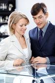 Negozio di gioielleria — Foto Stock