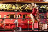 Striptease — Stock Photo