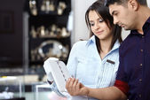 The buyer and the seller — Stock Photo