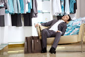 Tiresome shopping — Stock Photo