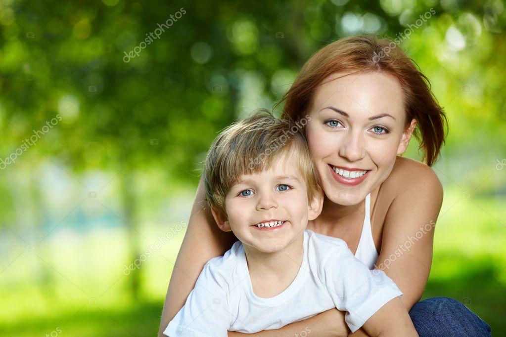 Сын с маму фото 22 фотография