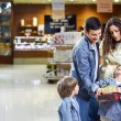 Amicable family — Stock Photo