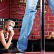 Striptease for the woman — Stock Photo #4022062