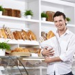 The client in a bakery — Stock Photo #4022163
