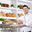 Stock Photo: The client in a bakery