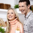Smiling couple — Stock Photo #4022164