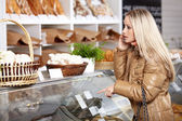In a bakery — Stock Photo