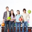 In bowling — Stock Photo