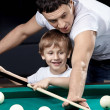 Sports family — Stock Photo