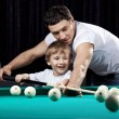 Billiard fun — Stock Photo