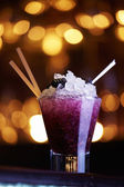 Blackberry cocktail — Stock Photo