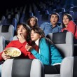 Cinema viewing — Stockfoto